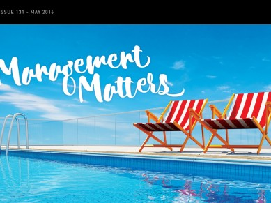 Management Matters Issue 131 - May 2016
