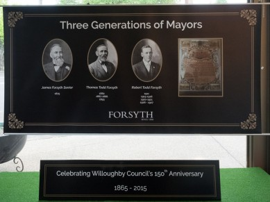 Willoughby Council celebrates its 150th Anniversary
